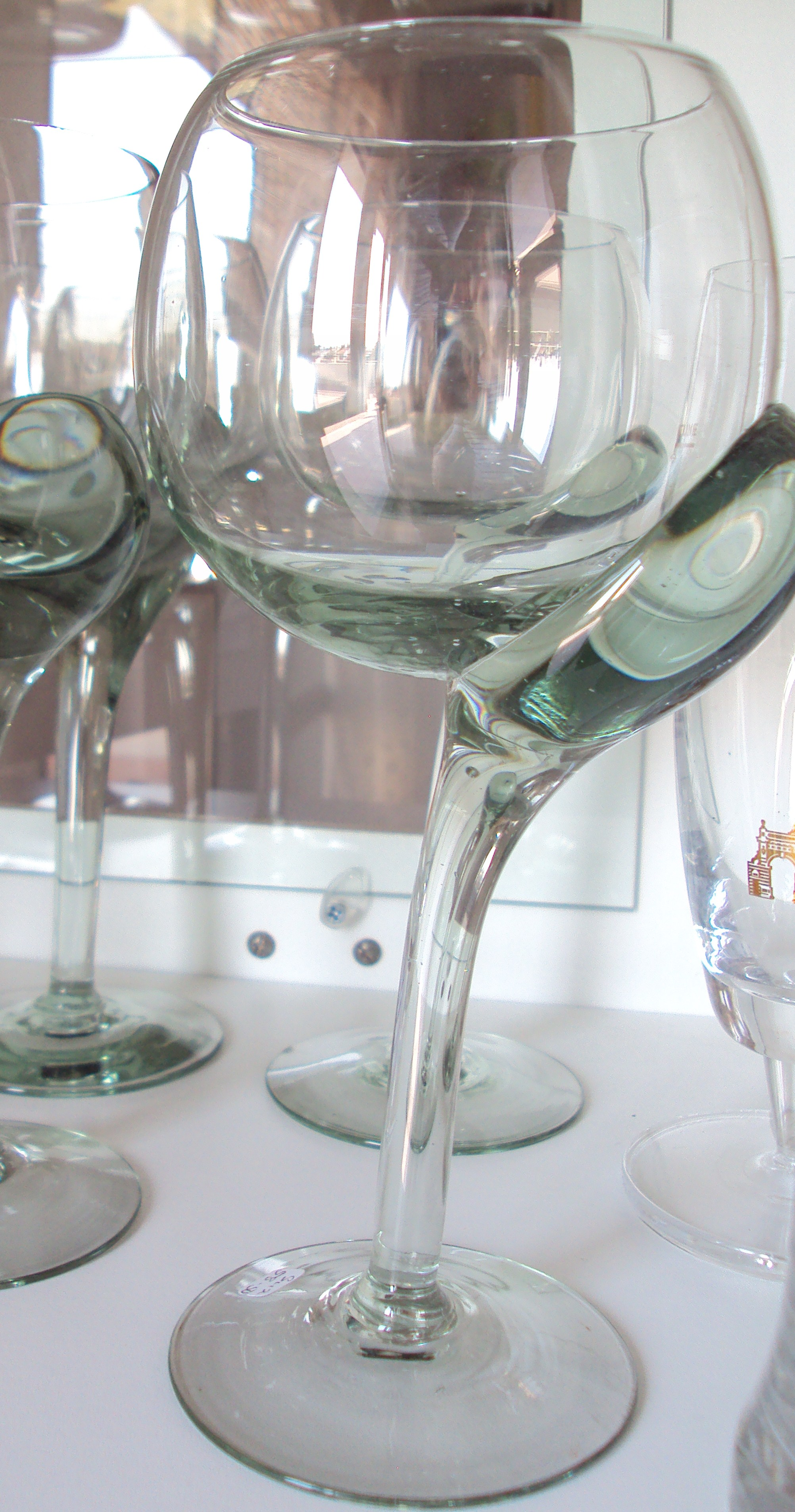 Swaziland a million miles - Funky champagne flutes ...